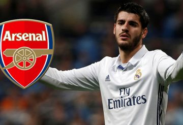Alvaro Morata by Arsenal
