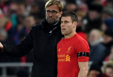 Klopp and milner Sorry team