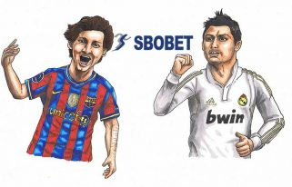 messi_and_ronaldo_katoon_art_sbobet